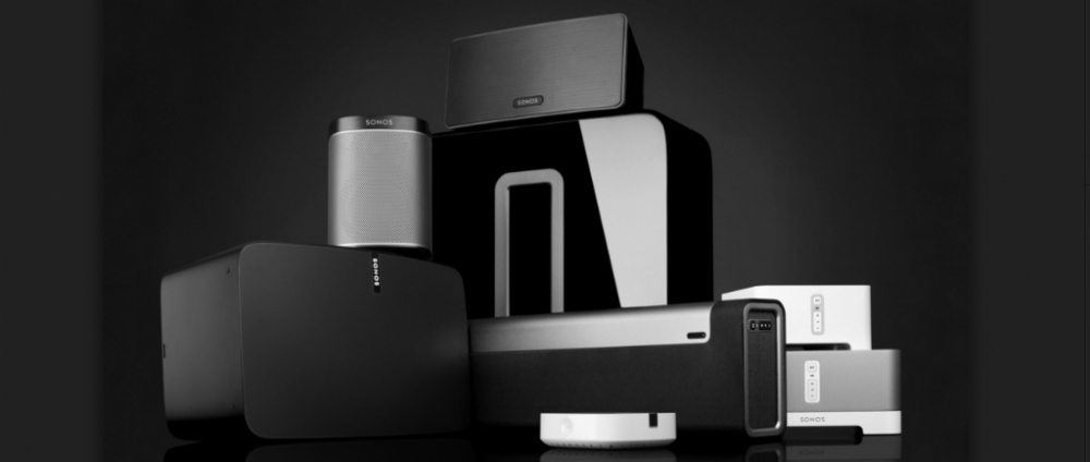 Sonos: alle Sonos producten permanent  in demo en in stock !