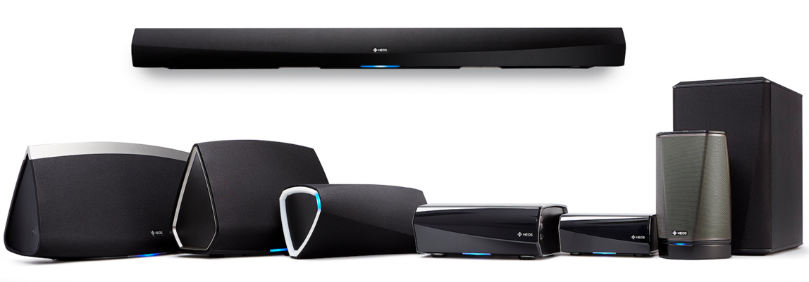 Heos by Denon! Alle Heos producten permanent  in demo en in stock !